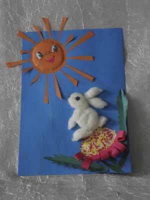 Поделка Солнечный зайчик